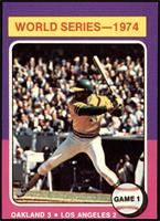 World Series - 1974 - Game 1 [EX]