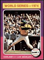 World Series - 1974 - Game 1 [EXMT+]