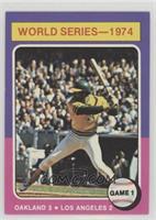 World Series - 1974 - Game 1