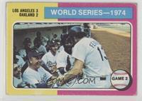 World Series - 1974 - Game 2 [GoodtoVG‑EX]
