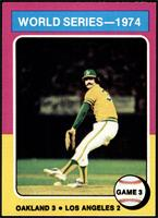 World Series - 1974 - Game 3 [EX]