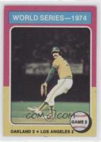 World Series - 1974 - Game 3 [GoodtoVG‑EX]