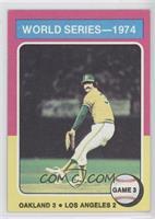 World Series - 1974 - Game 3