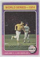 World Series - 1974 - Game 5 [PoortoFair]