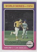 World Series - 1974 - Game 5 [GoodtoVG‑EX]
