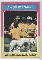 World Series - 1974 - A's Do It Again! [GoodtoVG‑EX]