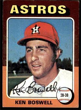 1975 Topps - [Base] #479 - Ken Boswell [VGEX]