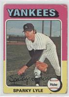 Sparky Lyle [Good to VG‑EX]