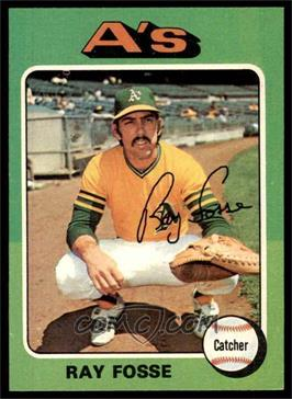 1975 Topps - [Base] #486 - Ray Fosse [NM]