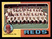 Cincinnati Reds Team Checklist (Sparky Anderson) [EX]