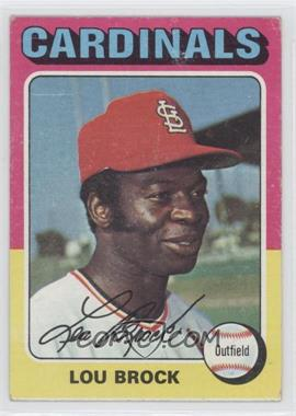 1975 Topps - [Base] #540 - Lou Brock [Good to VG‑EX] - Courtesy of COMC.com