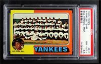 New York Yankees Team, Bill Virdon [PSA8.5NM‑MT+]