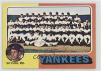 New York Yankees Team, Bill Virdon