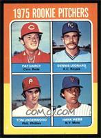 Tom Underwood, Hank Webb, Pat Darcy, Dennis Leonard [NM]