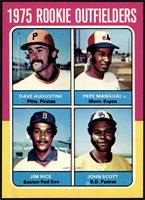 Dave Augustine, Pepe Mangual, Jim Rice, John Scott [NM MT]