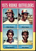 Dave Augustine, Pepe Mangual, Jim Rice, John Scott [VG]