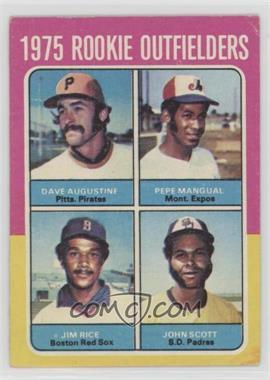 1975 Topps - [Base] #616 - Dave Augustine, Pepe Mangual, Jim Rice, John Scott [GoodtoVG‑EX]