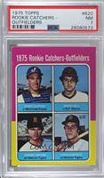 Gary Carter, Marc Hill, Dan Meyer, Leon Roberts [PSA 7 NM]