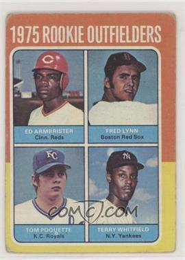 1975 Topps - [Base] #622 - Ed Armbrister, Fred Lynn, Terry