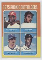 Ed Armbrister, Fred Lynn, Terry Whitfield, Tom Poquette