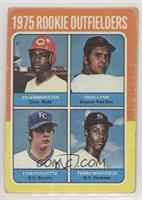 Ed Armbrister, Fred Lynn, Terry Whitfield, Tom Poquette [GoodtoVG&#…