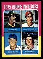 1975 Rookie Infielders (Phil Garner, Keith Hernandez, Bob Sheldon, Tom Veryzer)…