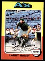 Larry Haney, Dave Duncan (Card Pictures Dave Duncan) [EX]