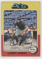 Larry Haney, Dave Duncan (Card Pictures Dave Duncan) [PoortoFair]