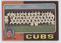 Cubs Team Checklist (Jim Marshall) [PoortoFair]