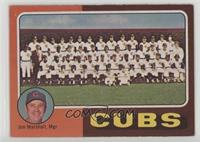 Cubs Team Checklist (Jim Marshall)