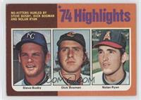 Steve Busby, Dick Bosman, Nolan Ryan [GoodtoVG‑EX]