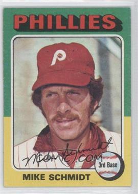 1975 Topps - [Base] #70 - Mike Schmidt