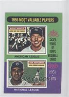 1956-Most Valuable Players (Mickey Mantle, Don Newcombe)