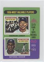 1956-Most Valuable Players (Mickey Mantle, Don Newcombe) [GoodtoVG&…