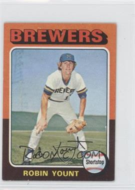 1975 Topps Minis - [Base] #223 - Robin Yount