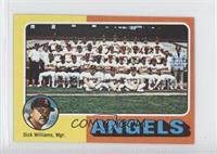 Los Angeles Angels Team, Dick Williams
