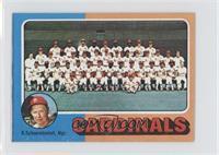 St. Louis Cardinals Team, Red Schoendienst
