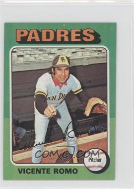 1975 Topps Minis - [Base] #274 - Vicente Romo