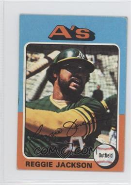 1975 Topps Minis - [Base] #300 - Reggie Jackson [GoodtoVG‑EX]