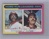 Home Run Leaders - 1974 (Dick Allen, Mike Schmidt) [NearMint‑Mint]