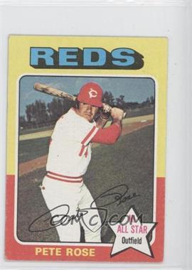 1975 Topps Minis - [Base] #320 - Pete Rose