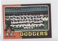 Los Angeles Dodgers Team, Walt Alston
