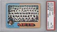 New York Mets Team, Yogi Berra [PSA 8]