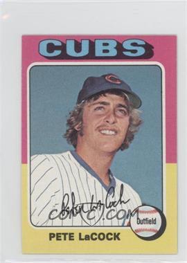 1975 Topps Minis - [Base] #494 - Pete LaCock
