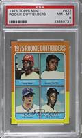 Ed Armbrister, Fred Lynn, Tom Poquette, Terry Whitfield [PSA 8]