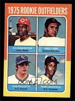 Ed Armbrister, Fred Lynn, Tom Poquette, Terry Whitfield [EX]