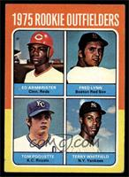 Ed Armbrister, Fred Lynn, Tom Poquette, Terry Whitfield [VG EX]