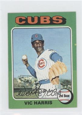1975 Topps Minis - [Base] #658 - Vic Harris