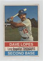 Dave Lopes (Brown Back) [NoneGoodtoVG‑EX]