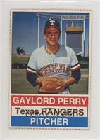 Gaylord Perry [Noted]